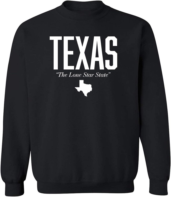 Texas The Lone Star State Crewneck Sweatshirt