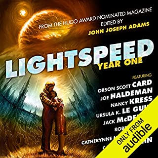Lightspeed Year One audiobook cover art