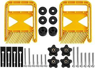 Housoutil Feather Loc Board Set Justerbara Fjäderbrädor Träbearbetning Säkerhetsenhet För Bordsågar Bandsågar Router Table...