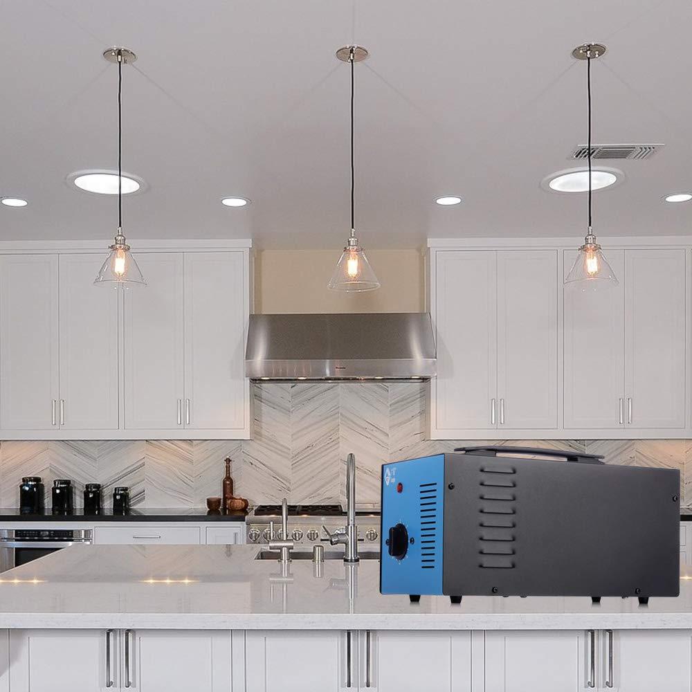 Generador de ozono profesional, purificador de aire de ozono, dispositivo de ozono con temporizador para su habitación, coche, cocina, desinfección, reducción de formaldehído y olor en el cuarto baño: Amazon.es: Bricolaje y