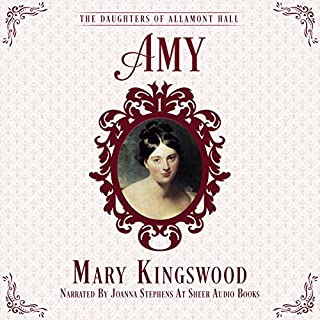 Amy audiobook cover art