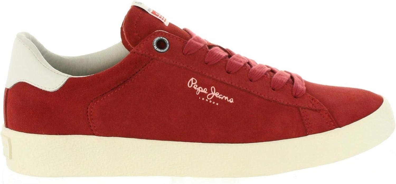 Pepe Jeans Schuhe für Herren PMS30498 Portobello 269 Light Burgundy