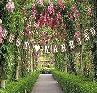 フォトプロップス 結婚式 披露宴 パーティ 写真 フォトウェディング 小道具 装飾 飾り付け 【JUST MARRIED】