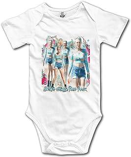 新生児専用のベビー服 音楽Miley Cyrus 男性の赤ちゃんの女の子0-24ヶ月 綿100%