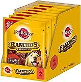 Pedigree Ranchos Originals - Aperitivo Blando para Perros, Secado Suave, Ideal para Perros pequeños y Grandes