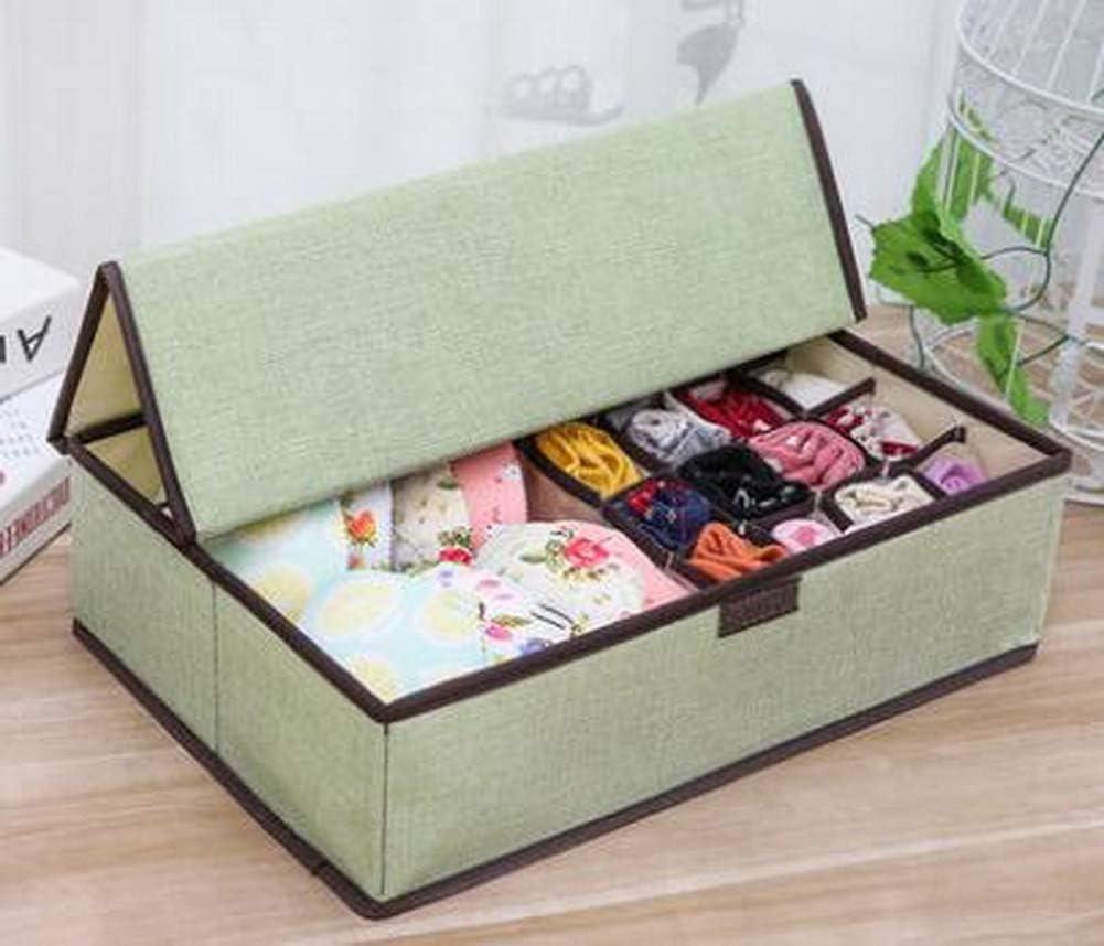 Black Temptation 17 Grids Foldable for Box Organizer Cheap mail order shopping Fashion Underwear