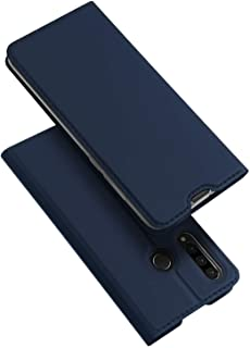 for Huawei P30 Lite DUX DUCIS Skin Pro Series Flip Leather Case Cover - Blue