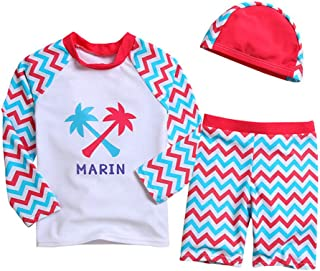 LXKIKMM Mays 2pcs Baby Girls Swimwear Cute Polka Dots Bikini Set Swimsuit
