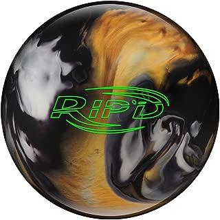 Hammer Rip'd Bowling Ball- Black/Gold/White