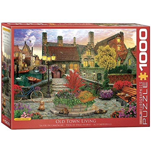 EuroGraphics Old Town Living by David McLean 1000-Piece Puzzle