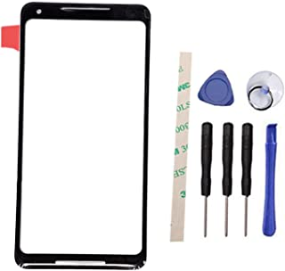 General Outer Screen Front Glass Lens Replacement for HT C Google Pixel 2 XL / 2XL G011C 6