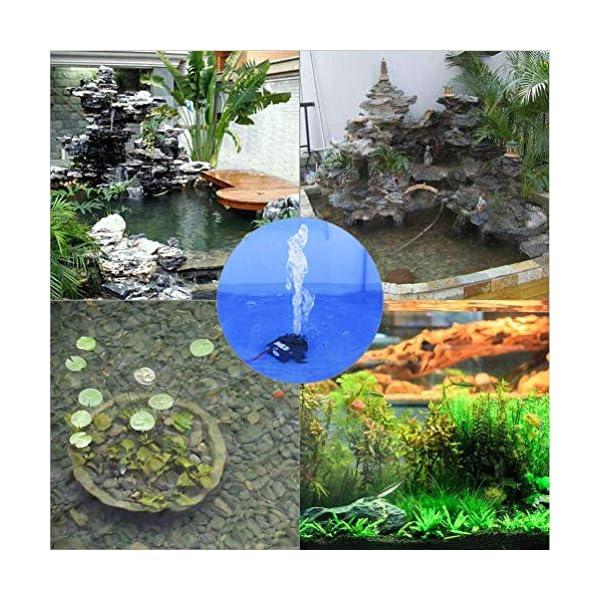 CESFONJER 12V Micro Sin Cepillo de la Bomba de Agua, Mini Micro Bomba Sumergible para Pecera Acuario Jardín, Estanque…