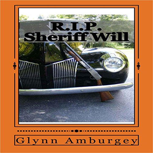 R.I.P. Sheriff Will audiobook cover art
