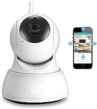 FZOON HD 720P IP Camera WiFi PTZ Security Two Way Audio Night Vision Smart Surveillance Wireless IP Camera P2P Cloud iCSee,720P,AU Plug