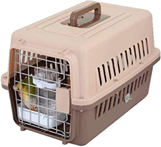 Bird House Bulk Bird Cage Bird Travel Cage Portable Transport Cage Breathable Ventilation with Food Box and Drinker Bird N...