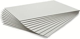 10枚セット カルトナージュ グレー台紙 A4サイズ 21×29.7cm (厚さ2.0mm)