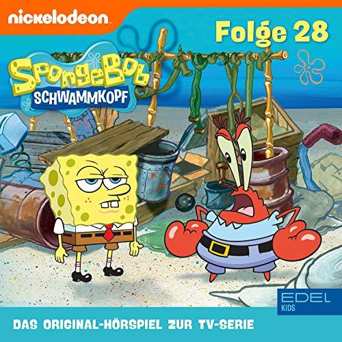 SpongeBob Schwammkopf 28. Das Original-Hörspiel zur TV-Serie Titelbild