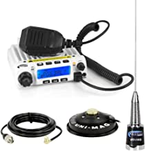 Rugged Radios RM60-V 60 Watt VHF Two Way Mobile Radio Kit with UNI-MAG Antenna Mount, Antenna, U-Bracket and 6' Power Cable with Inline Fuse