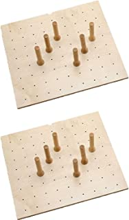 Rev-A-Shelf Deep Drawer 9 Peg Board System for Drawers Up to 24 Inches (2 Pack)