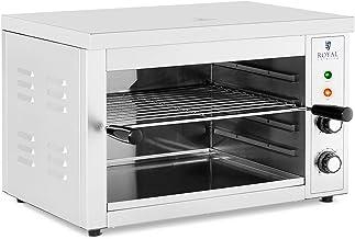 Royal Catering RCPES-380 Salamandre De Cuisine Professionnelle Four Électrique Grill (3000 W, 50- 300 °C, 0- 30 min, Ré...