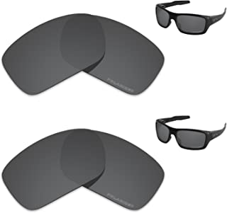 Performance Lenses Compatible with Oakley Turbine Polarized Etched-Value Pack