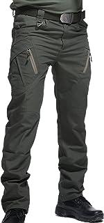 AIEOE Pantalones Impermeables Tácticos Hombre de Verano Multibolsillos Pants Resistentes al Desgaste para Soldados Especia...