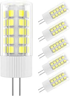 5X G4 LED Bombilla,36 * 2835 SMD, DC/AC 12V 5W G4 Lámpara(Equivalente a Lámpara Halógena 50W), 6000K (Luz Blanco Frío)