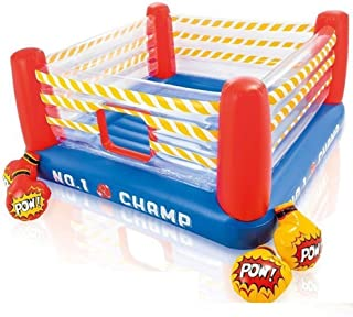 LKITYGF Rompecabezas Inflador Infantil Trampoline Inflatable Boxeo Discosteri Castle Indoor Trampoline Boxeo Anillo Interior Naughty Castle Plaza de Juegos para niños Deportes