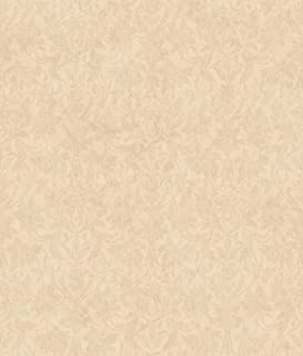 Décor Direct YWAR7757 Pattern Wallpaper, Pale Yellow, Taupe, Gold