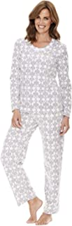 Chums Ladies Womens Pyjama Waffle Print