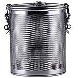 キッチン食品ストレーナーステンレス鋼メッシュネットポット炊飯器アクセサリーは、歪み、ドレイン、リンス、スチームやクック野菜パスタフレーバー (12 * 14cm)