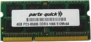 أجزاء سريعة 4 جيجا بايت ذاكرة توشيبا ستالايت C655D-S5230 Ddr3 Pc3-8500 ترقية رام (علامة تجارية سريعة للأجزاء)