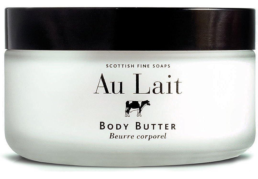 セールスマンリットル舗装するSCOTTISH FINE SOAPS (スコティッシュファインソープ) Au Lait ボディバター