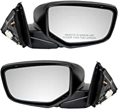 Driver and Passenger Power Side View Mirror Replacement for Honda 76258-TA5-A01 76208-TA5-A01 AutoAndArt