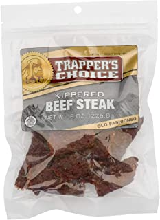 Old Trapper | Trapper's Choice | Old Fashioned Kippered Beef Steak | Traditional Style Real Wood Smoked Beef | Made from 1...