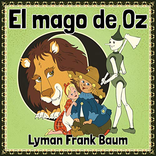El mago de Oz (The Wizard of Oz) audiobook cover art