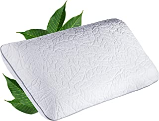 JONA SLEEP Almohada de látex natural (40 x 80 x 14 cm), almohada de látex fija, Öko-Tex, cojín cervical transpirable, almohada ortopédica (80 x 40 x 14 cm)