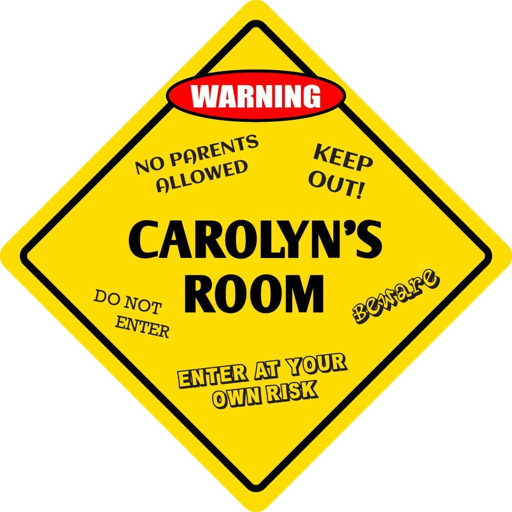 Sign Wall Max 46% OFF Signboards Poster Decor Kids Aluminum Room Carolyn's Limited price -