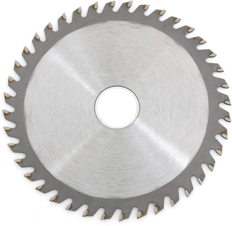3 unids 115mm carburo hoja de sierra 4.5 /ángulo amoladora circular hoja de sierra para carpinter/ía corte madera pl/ástico 40 dientes