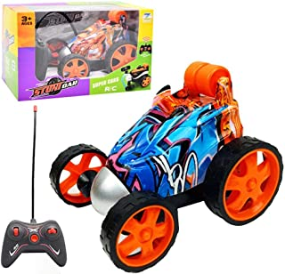 ONERIOME 2.4Ghz Wireless Tumbling Stunt Car Toy,360 Degree Rotating Remote Control Tumbling Stunt Car Great Gift for Kids