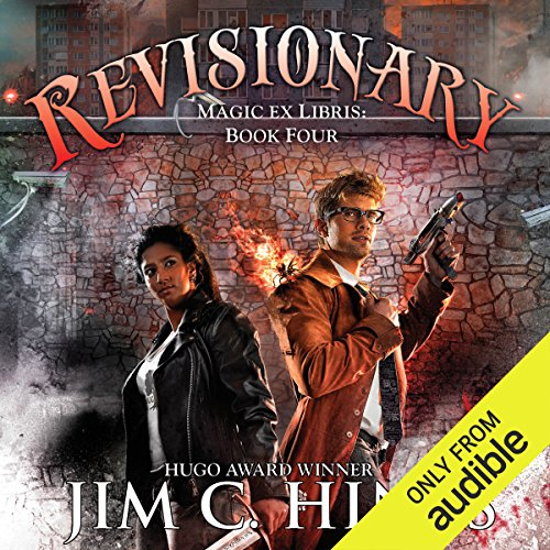 Revisionary audiobook cover art