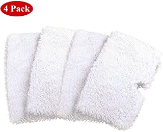 Atphfety 4pcs Washable Microfiber Replacement Cleaning Mop Pads for Shark Steam Pocket Mop S3550/S3901/S3601/S3501 Series