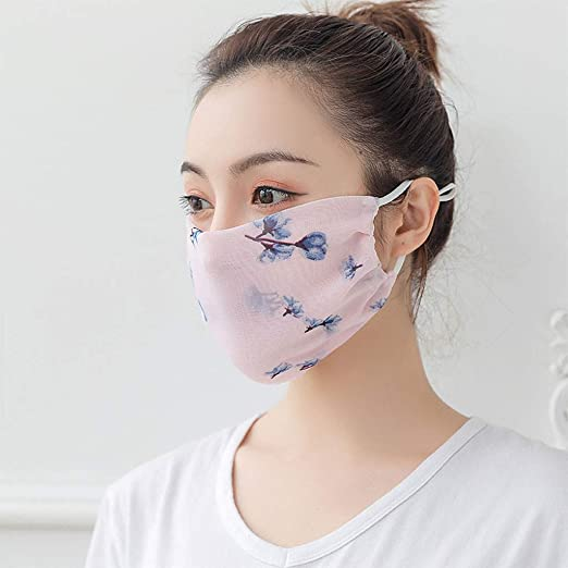 Black Face M/àsc Bandanas Washable Advanced Filter Materials Advanced Filter Holes Neck Warmer UV Protection Breathable Windproof Reusable
