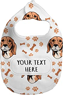 Fleece Bib Custom Serbian Hound Dog Breed Pattern A Unisex Children, One Size