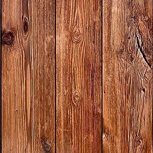 murando Papel Pintado 10 m Fotomurales tejido no tejido rollo Decoración de Pared decorativos Murales XXL moderna de Diseno Fotográfico - Madera 1602-13
