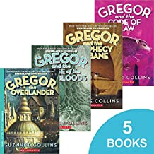 The Underland Chronicles Collection - (Gregor the Overlander, Gregor and the Prophecy of Bane, Gregor and the Curse of the...