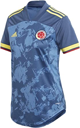adidas 2020-21 Colombia Womens Away Jersey - Navy