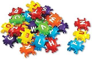 Learning Resources LER7306 Smart Splash- Letter Link Crabs, 2-1/8 L x 2-1/4 W in