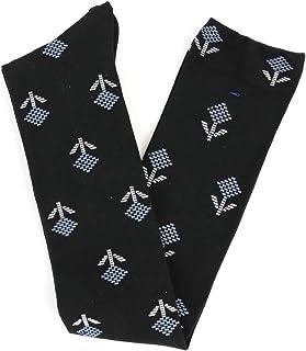 (フレンチブル) French Bullコットン混花柄ロング靴下ジニアソックス11-36182?185