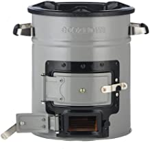 EcoZoom Versa Camping Stove - Portable Wood Burning Camp Stove for Backpacking, Hiking, RV and Survival, no Gas or Electricity needed! (Renewed)